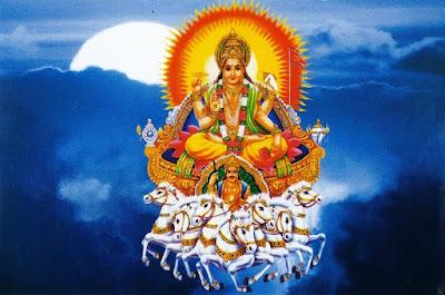 कृष्णपुत्र साम्ब ने सूर्य उपासना कर सूर्य को प्रसन्न किया