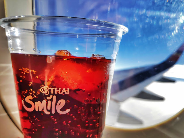 Thai Smile Drinks in Flight