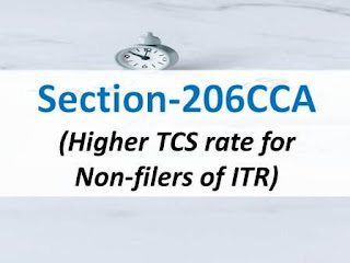 Section 206CCA: Higher TCS Rate for Non-Filers of ITR's