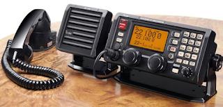 KOMUNIKASI RADIO MARINE VHF CHANNEL 16 DAN 13