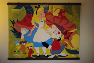 Alice in Wonderland  (160cm x 120cm)