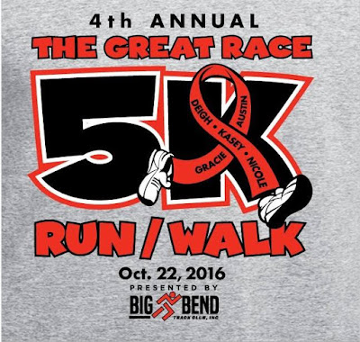 Perry, Florida's 2016 Great Race 5K