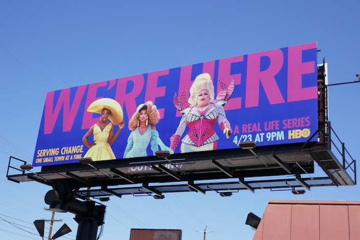 Were Here series premiere billboard