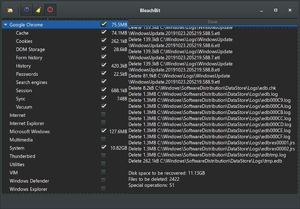 تثبيت BleachBit افضل اداة تنظيف لنظام لينكس linux تنظيف النظام بالكامل وتحرير مساحة كبيرة علي القرص - Linux cleanup tool