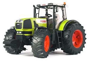 traktor claas urodziny rolnika zielony traktor
