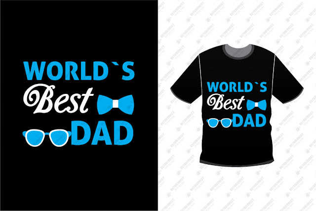 Happy Fathers Day Tshirt Design Free Vector Download