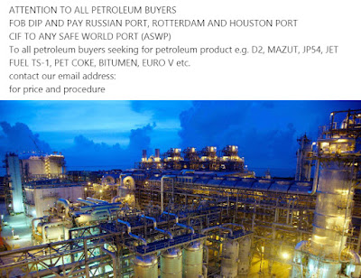 Fake Petroleum Product Offer!