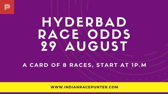 Hyderabad Race Odds 29 August