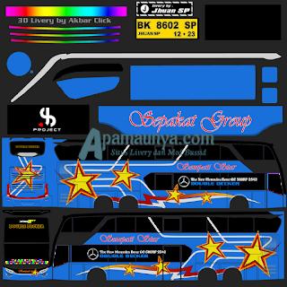 Download Livery Bus JB2+ SDD Sempati Star