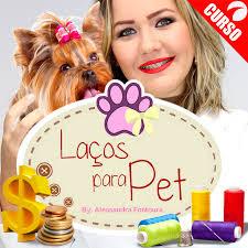 Curso Online Laços Para Pet - Artesanato Para Animais
