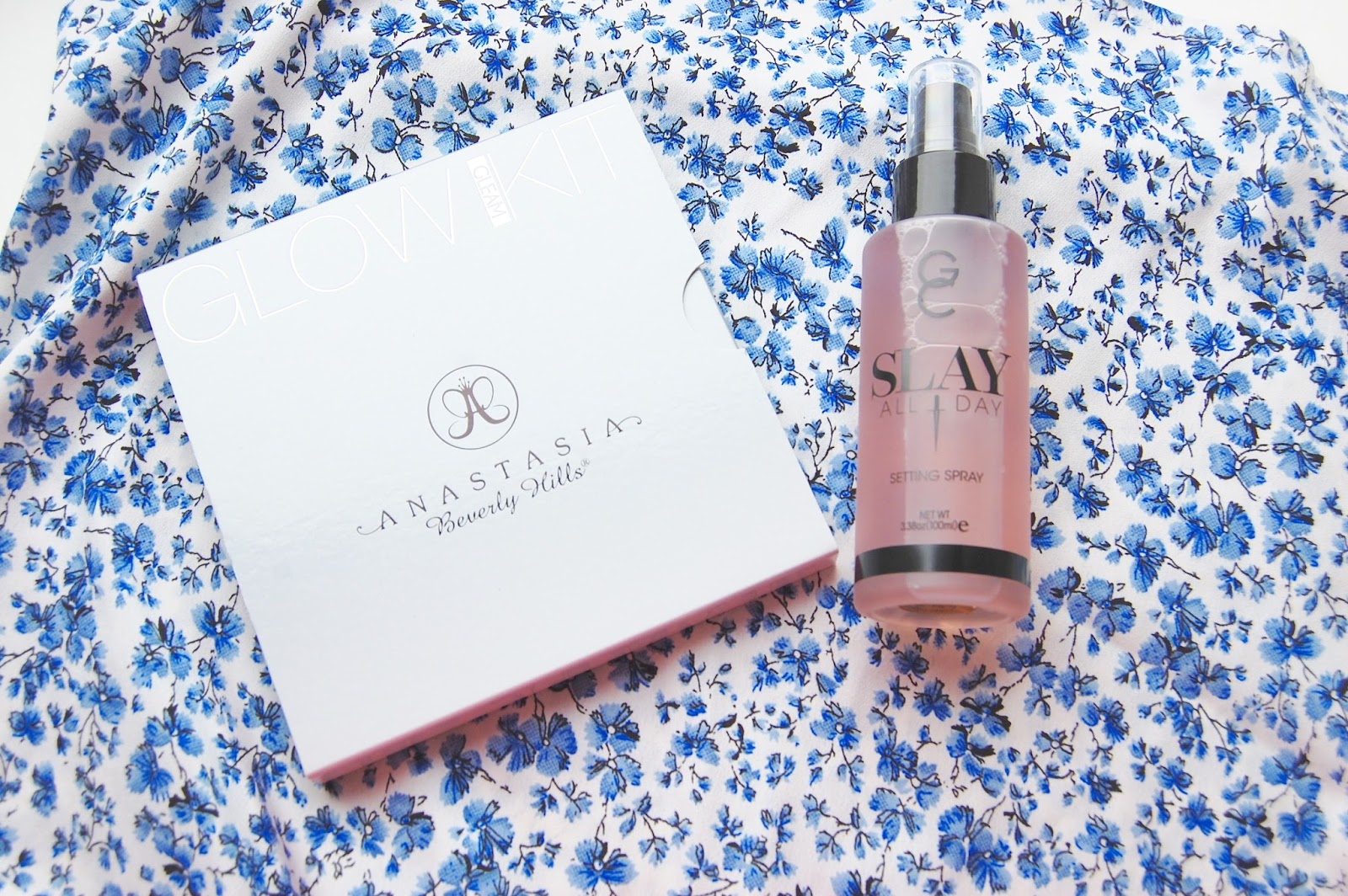 See my ABH Gleam Kit and Gerard Cosmetics Slay Spray review here
