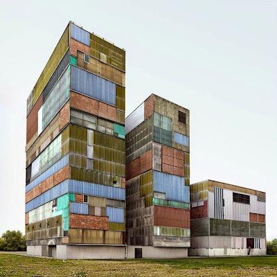 Fotomontaje de edificio