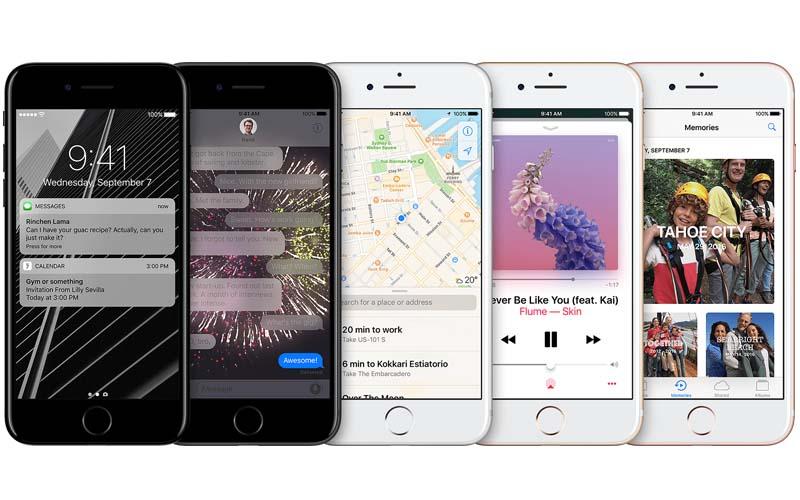 iPhone 7 Plus tahan debu dan percikan air