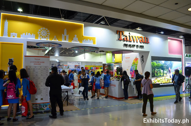 Taiwan trade show display pavilion