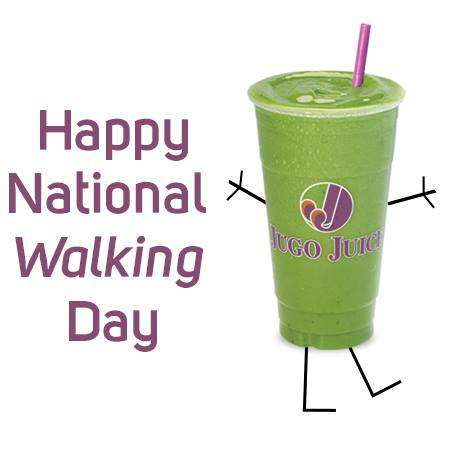 National Walking Day Wishes Unique Image