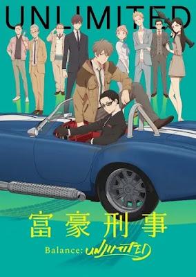 تقرير انمي  المحقق المليونير | Fugou Keiji: Balance:Unlimited