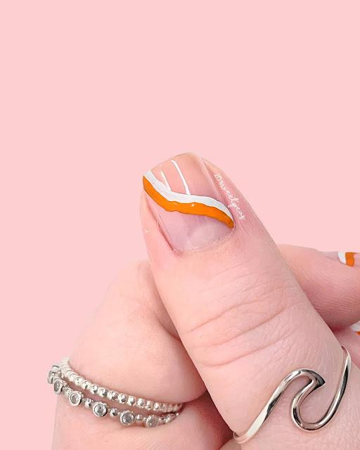 Step By Step Wave Nail Art - 25 Sweetpeas