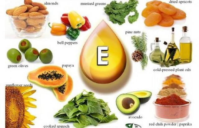 vitamin e co trong thuc pham nao