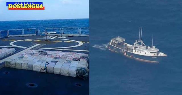 Policía de España y Portugal detuvieron un barco pesquero venezolano con 4000 kilos de drogas