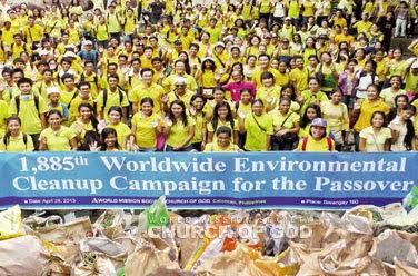 Cleanup sa Tullahan River, at sa paligid ng Barangay 160 sa Caloocan