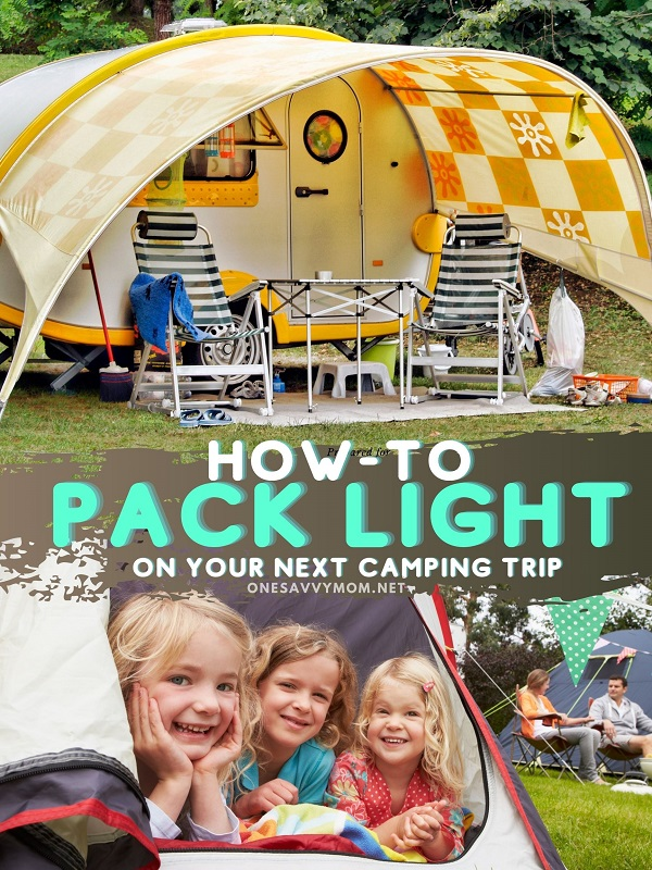 How To Pack Light On Your Next Camping Trip