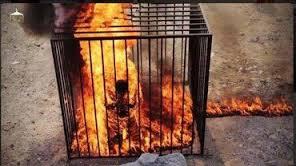 Imagens Fortes: Cristão é queimado vivo pelo Estado Islâmico, no Egito