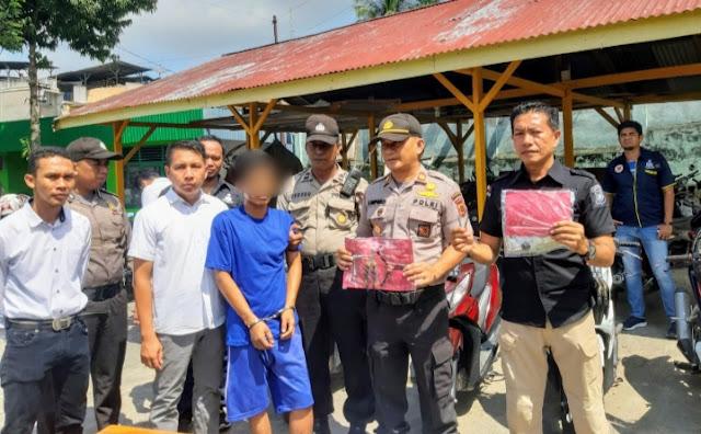 Mantab!!! Unit Reskrim Polsek Pasar Berhasil Ringkus Pelaku Curanmor Yang Telah Beraksi Di 19 TKP
