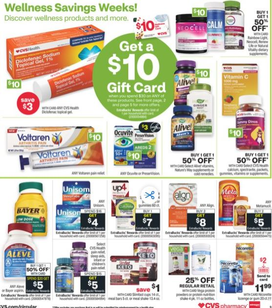 CVS Weekly Ad Preview 1/24-1/30