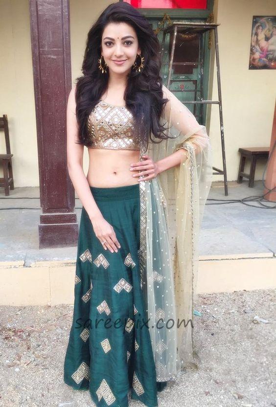 Kajal Agarwal S Top 9 Lehenga Looks Indian Beauty And