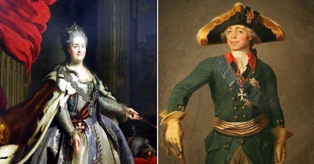 Почему великая императрица Екатерина II ненавидела сына Павла