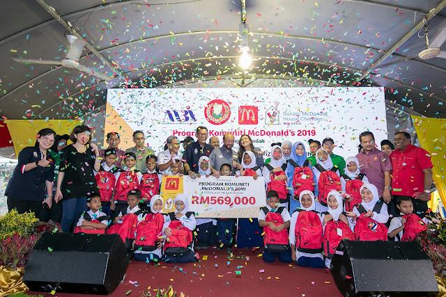 McDonald's Sumbang Lebih RM560,000 Bantu Golongan Memerlukan di Kedah