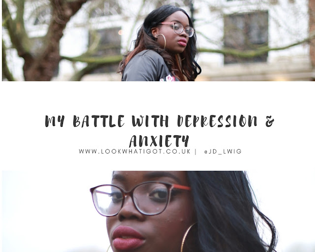 my battle with depression and anxiety
