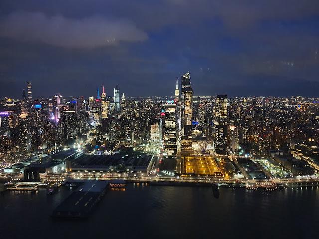 passeio de helicóptero noturno em New York