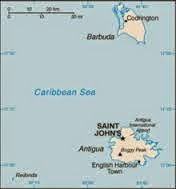 Peta Negara Antigua