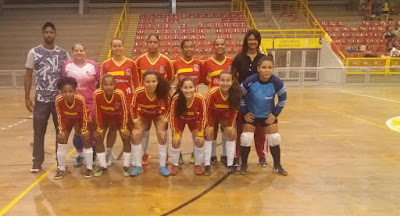 União SAJ representa a cidade em torneio de Futsal Feminino