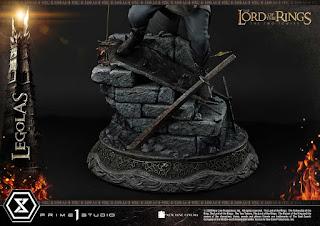 Estatua de Legolas de El Señor de los Anillos: Las Dos Torres, Prime 1 Studio.