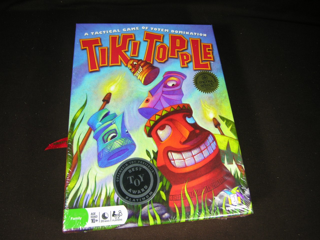 克勞德的桌上遊戲工作室: Tiki Topple