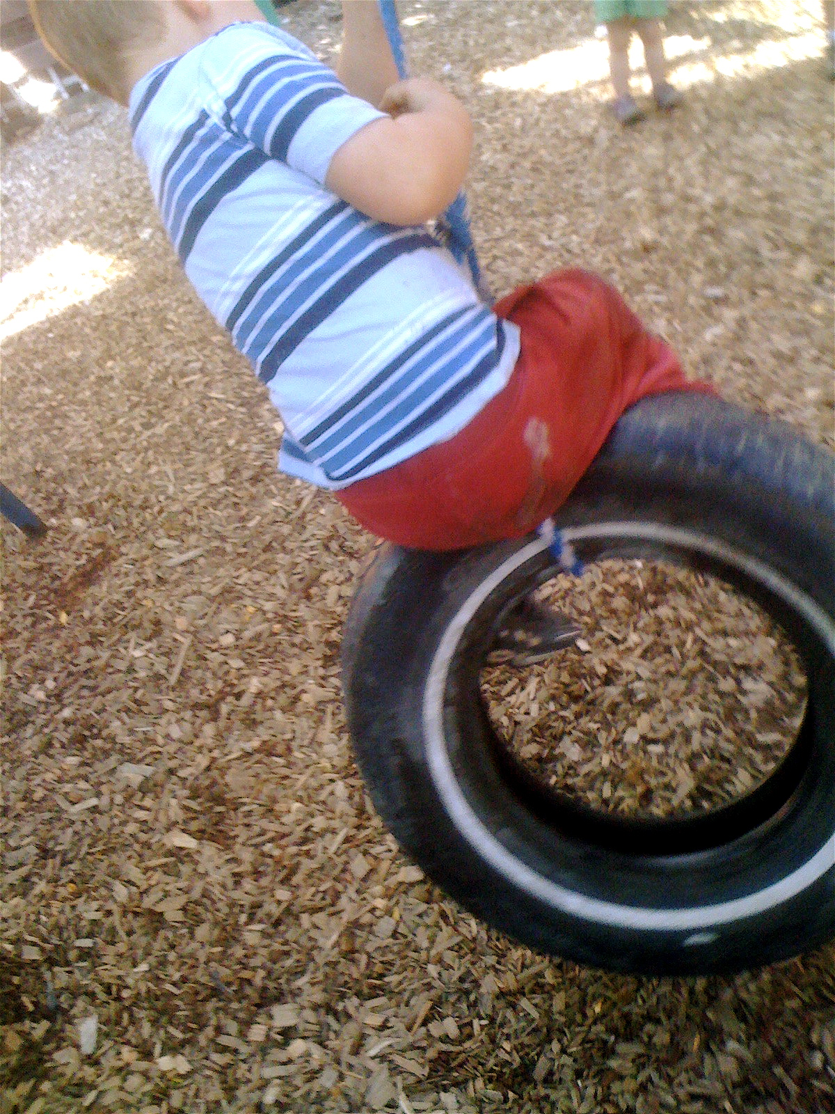 Definition of tire swinging
