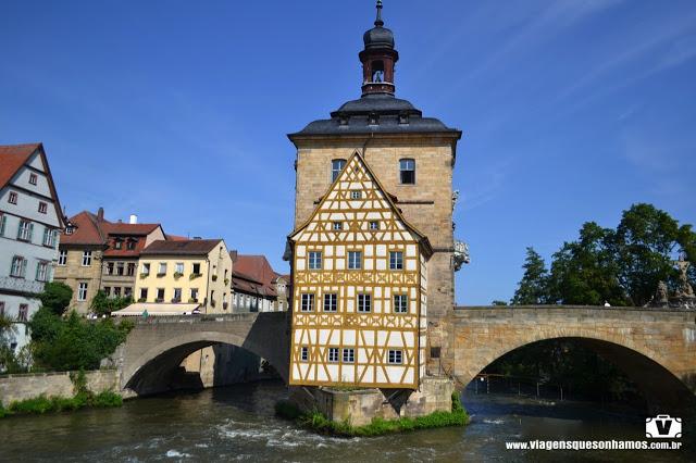 Alemanha: as pontes mais fantásticas! Obere Brücke, Bamberg