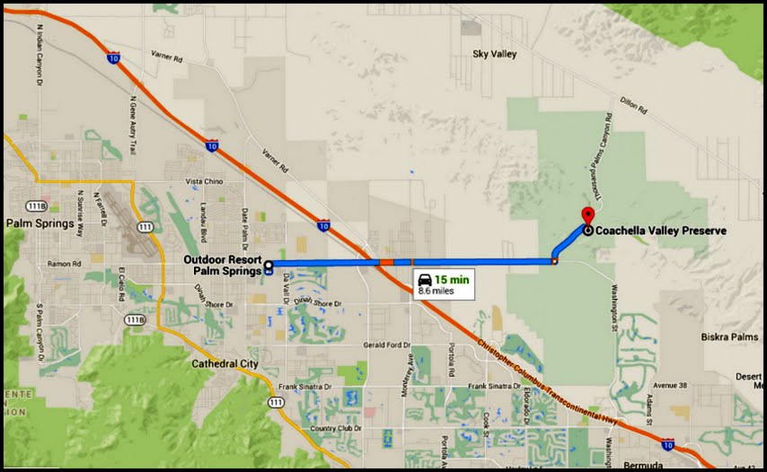 Have Retirement Will Travel San Andreas Fault In The Coachella - San andreas fault map with cities
