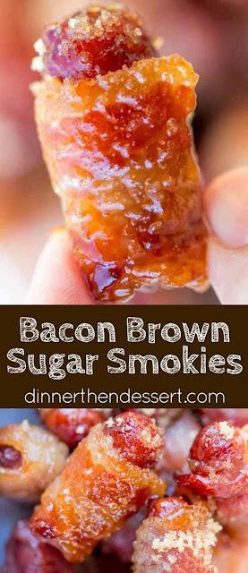 #Bacon Brown Sugar #Smokies #recipe #comfortfood