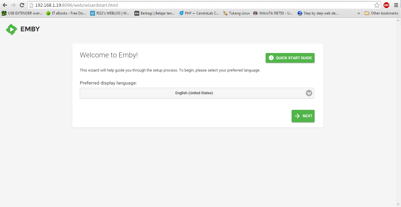 Membuat Streaming Server Sendiri dengan Emby di Debian 7
