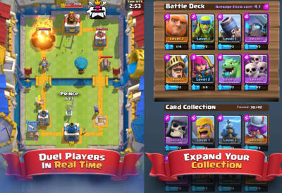 Clash Royale come Clash of Clans