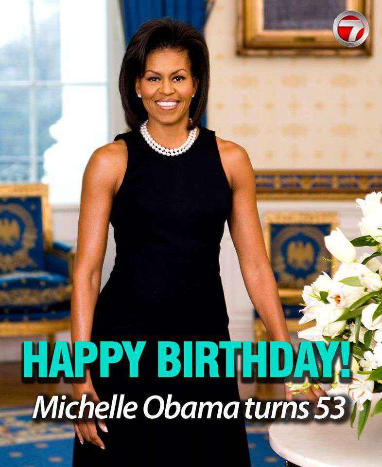 Michelle Obama's Birthday Wishes