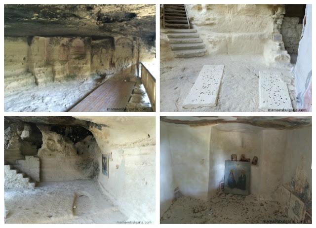 Diversas celdas del monasterio Aladzha