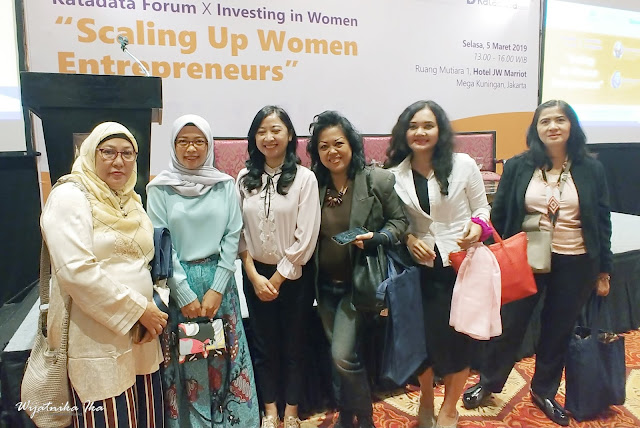 Scaling Up Women Entrepreneurs Bersama Investing in Women dan Katadata Forum
