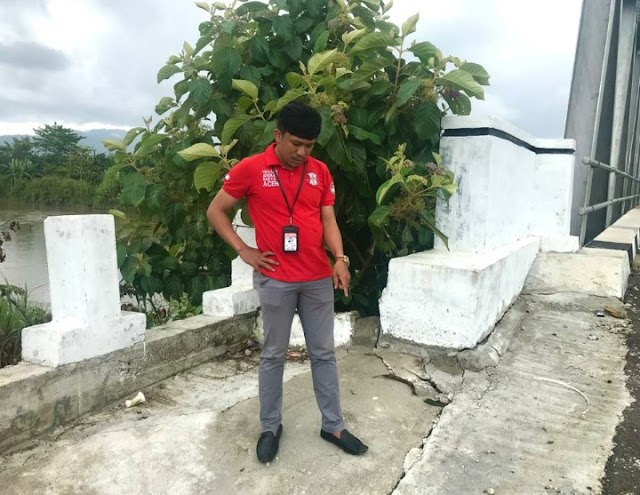 YARA Abdya Minta Aparat Penegak Hukum Periksa Pembangunan Jembatan Krueng Teukuh   PikiranSaja.com