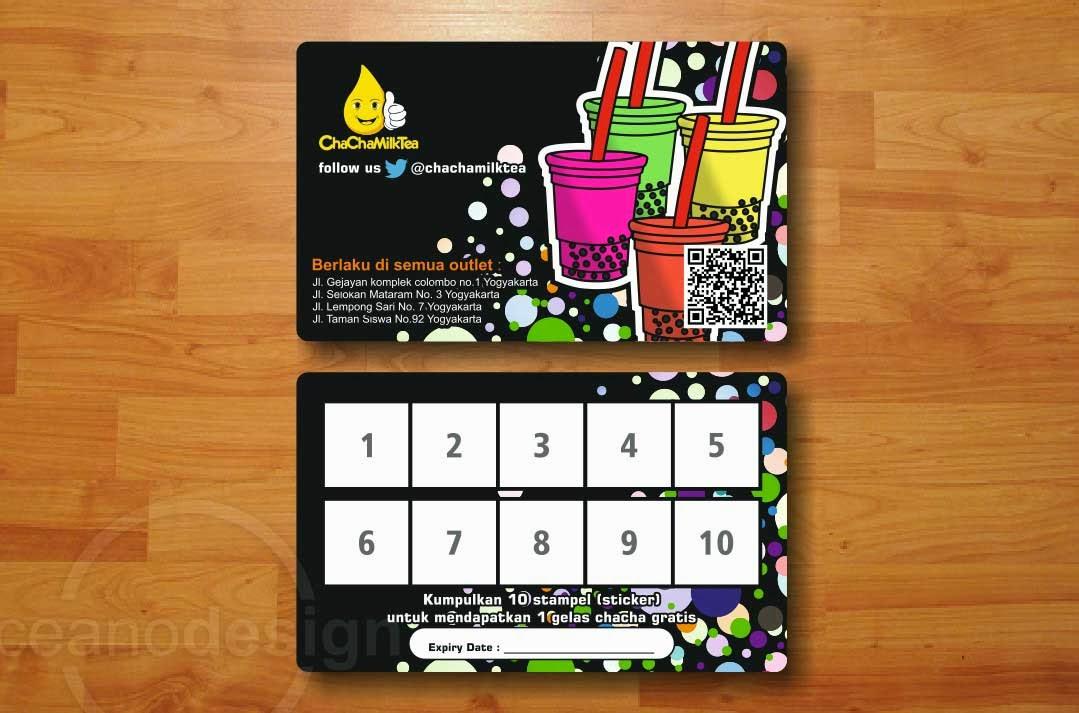 Contoh Desain Member Card - Jasa Desain Grafis Jogja