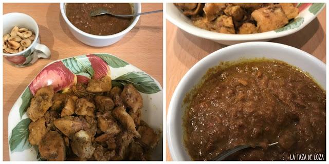 Pollo-antes-de-desmenuzarlo-y-salsa-reducida