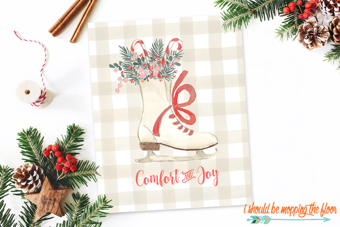 Free Comfort and Joy Printable